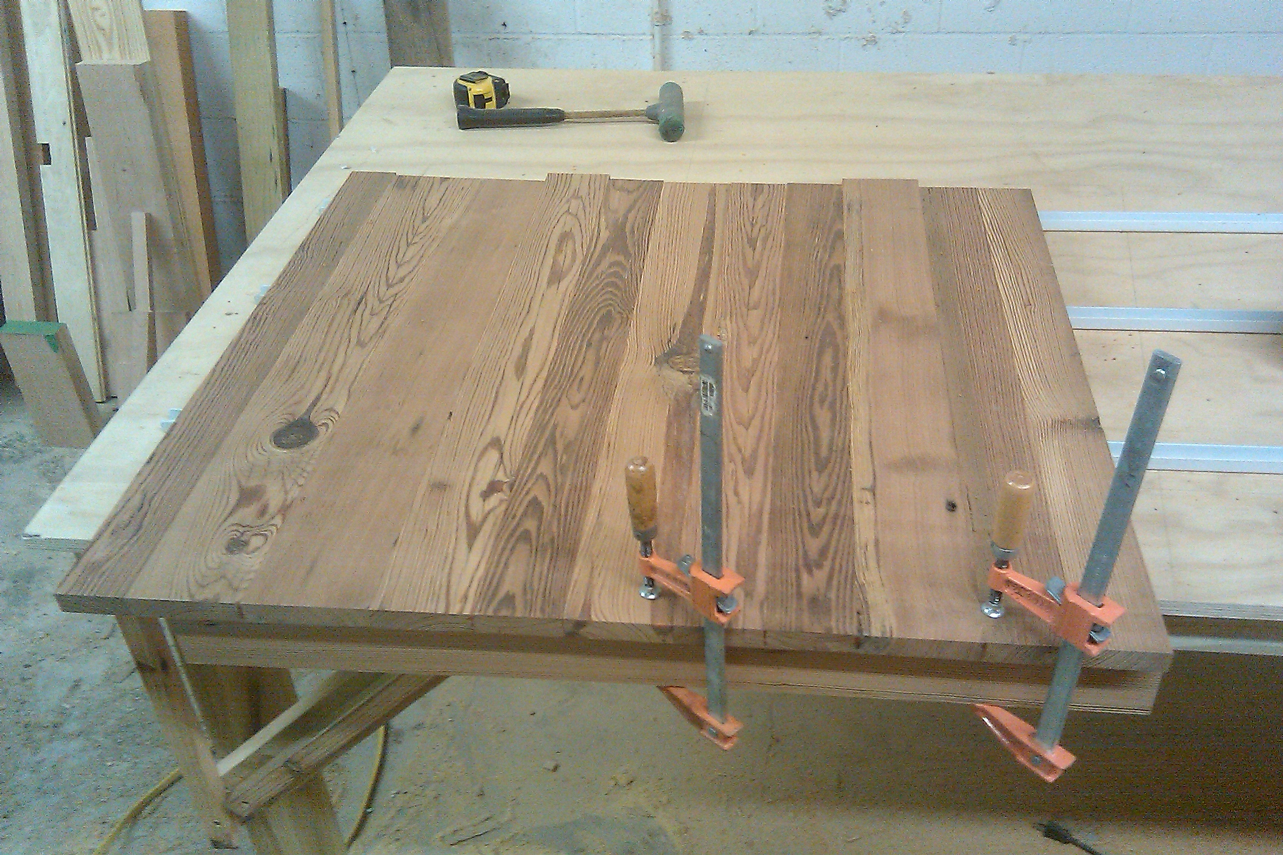 Cafe Table Top Finish